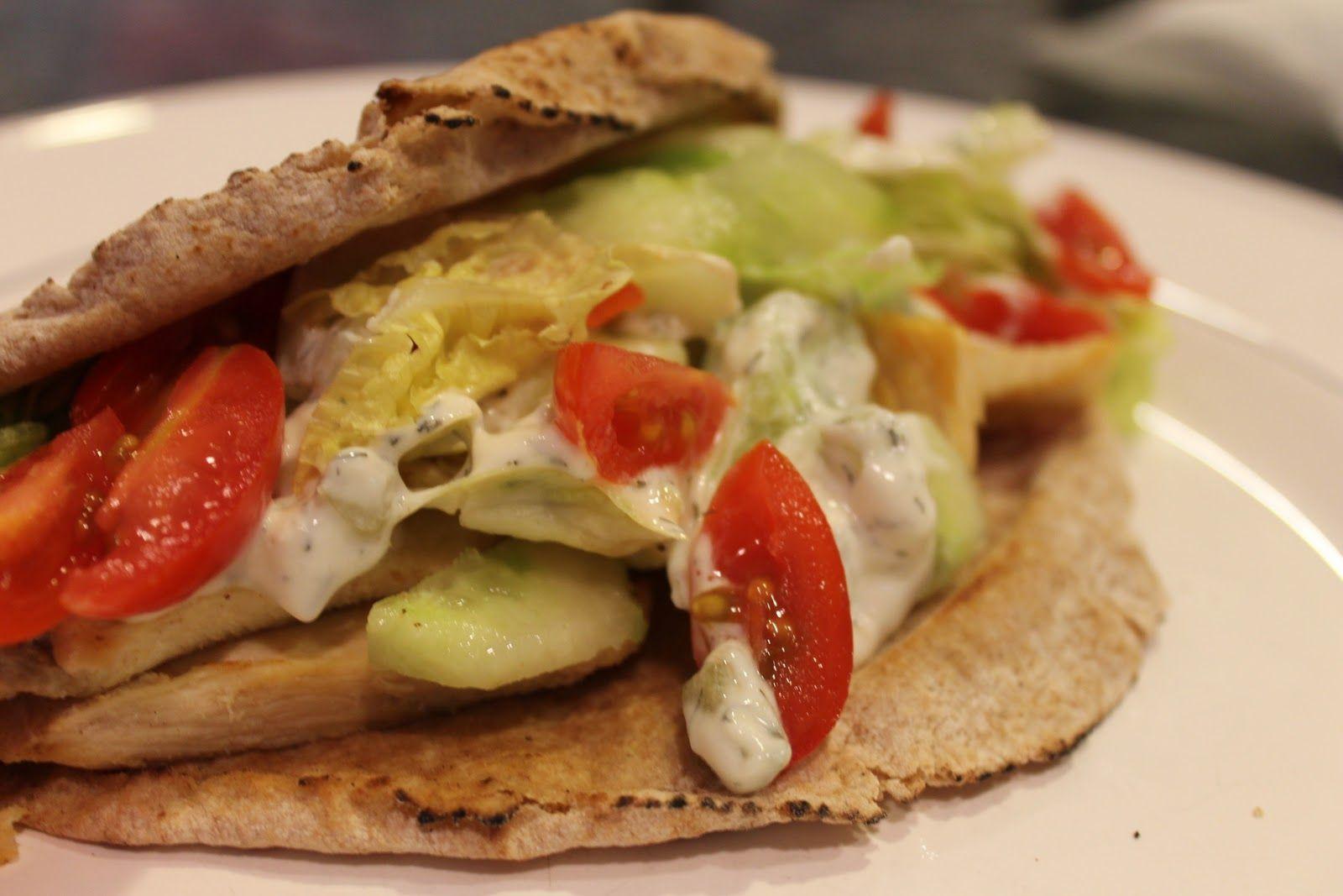 Chicken Tzatziki Sandwich