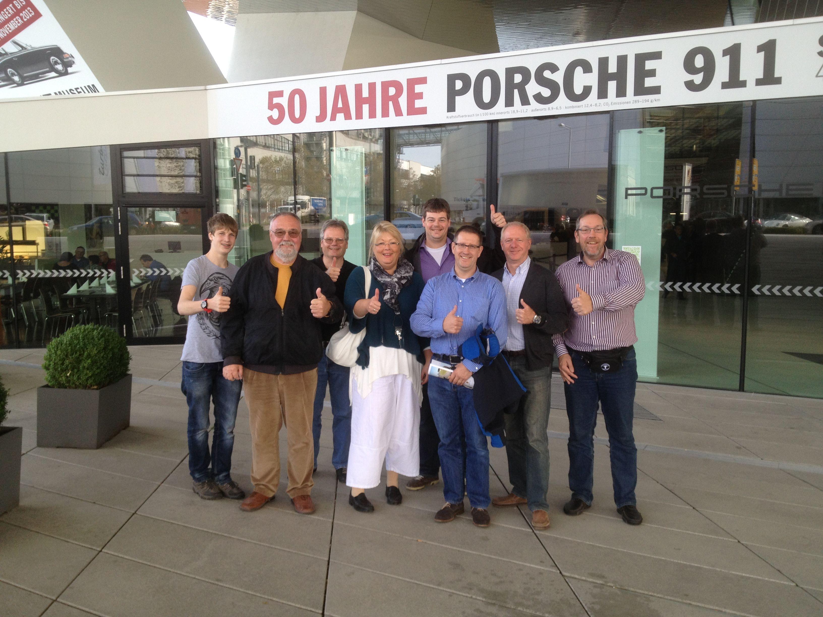 PFN besuchen das PORSCHE Museum in Stuttgart. | Porsche ...