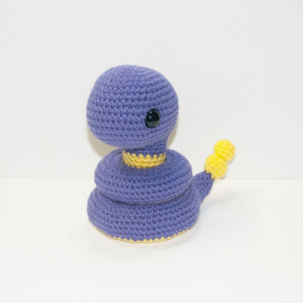 Ekans by Heartstringcrochet.deviantart.com on @DeviantArt | crochet ...