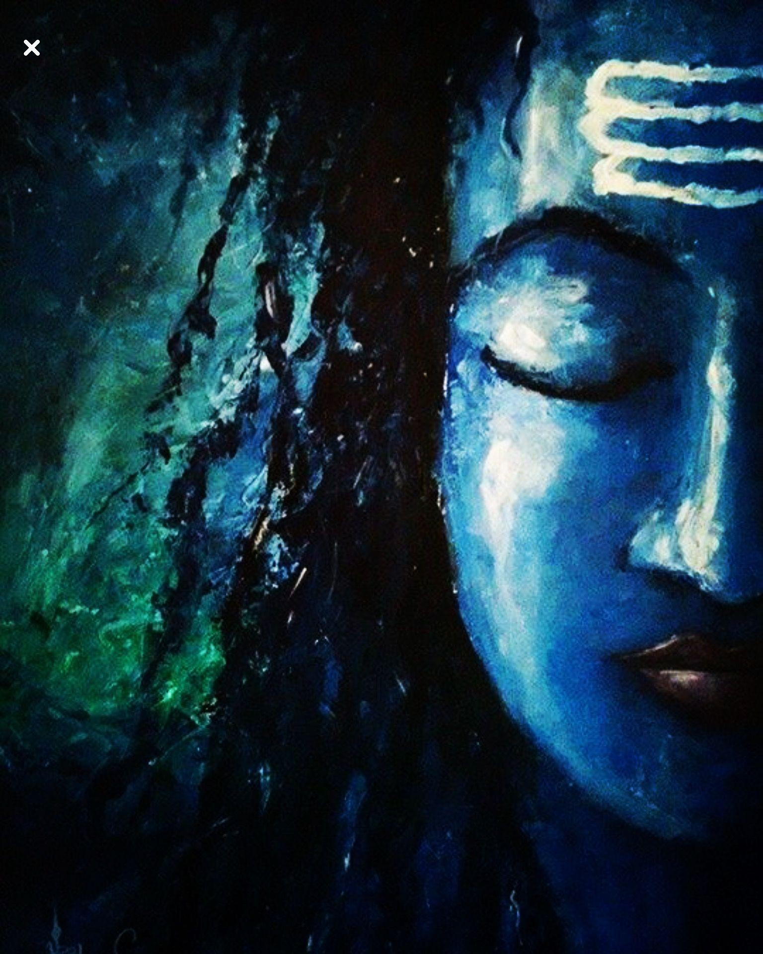 Shiva Painting Lord Shiva Painting Shiva Art Lord Shiva