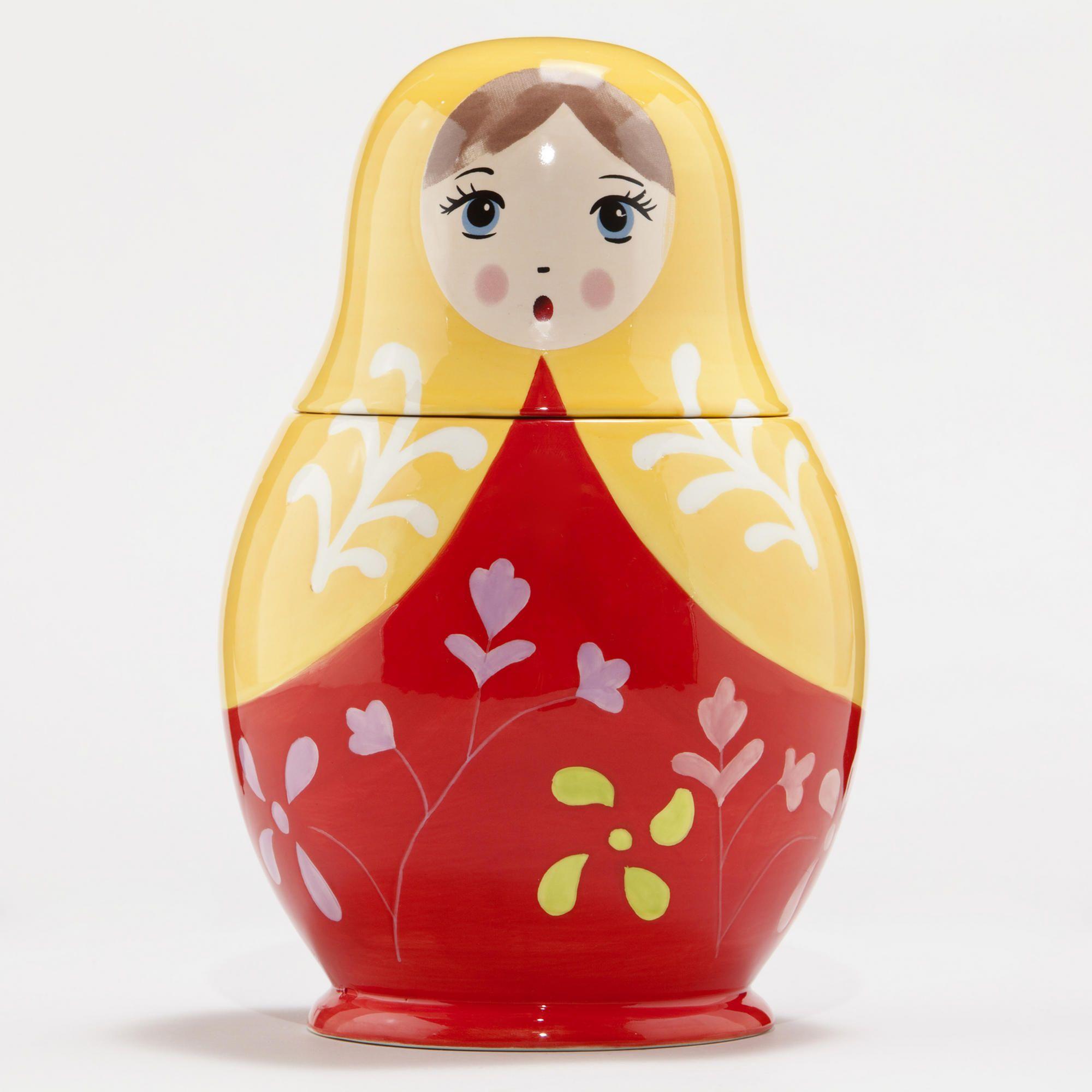 Russian Doll Cookie Jar