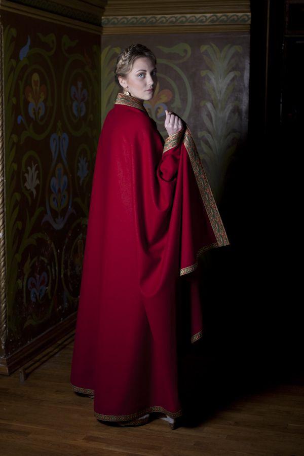 e54b345fc63 Anne Of Kiev Cloak Medieval Natural Wool Cloak Anne of Kiev
