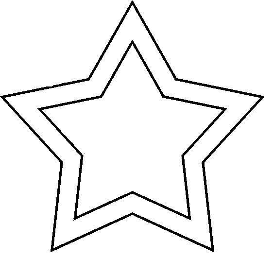plakboek ster passen en meten met stroken twinkel