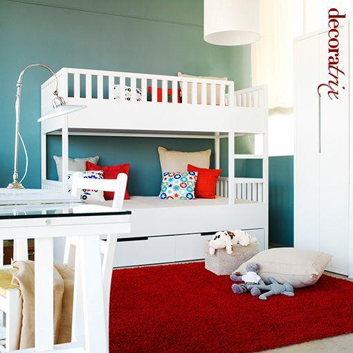 Decoracion infantil dormitorios literas children bedrooms - Decoracion interiores infantil ...