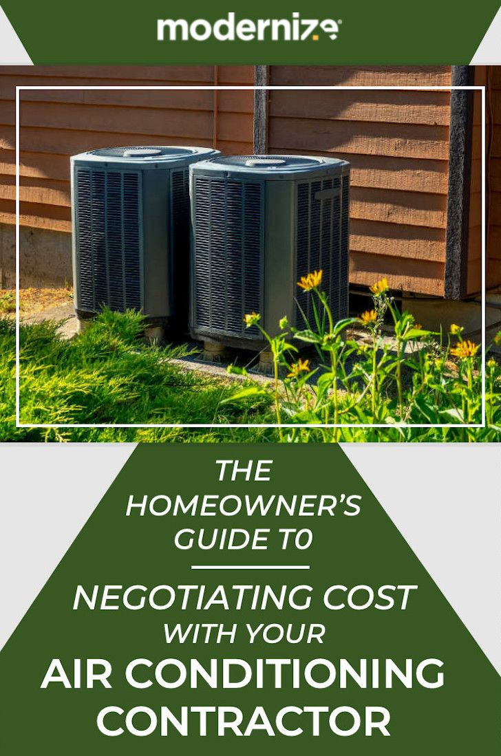 Tips For Negotiating Cost with Air Conditioning