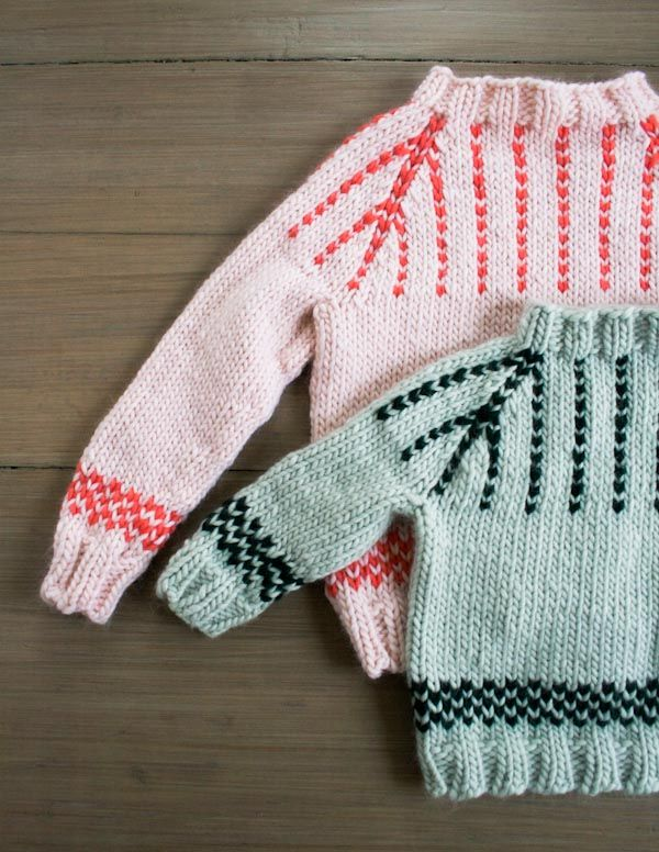 Friendly Fair Isle Sweater: Now Sized for Toddlers + Kids Too ...