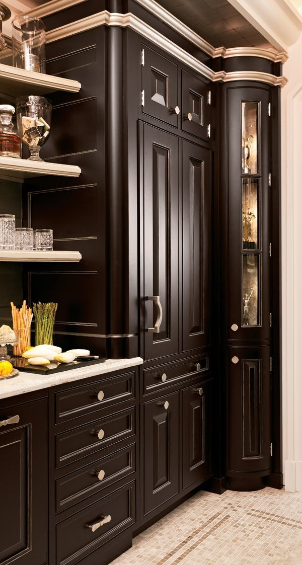 Crown Molding Fit For A King Kitchen Elegant Kitchens House Home