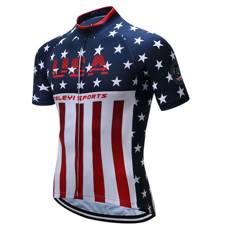 Teleyi Sport Bike Team Racing Cycling Jersey Tops Summer Bicycle Cycling  Clothing Ropa Ciclismo Breathable MTB Bike Jersey Shirt - Mountain Bikes  For Sale 16c45a23d