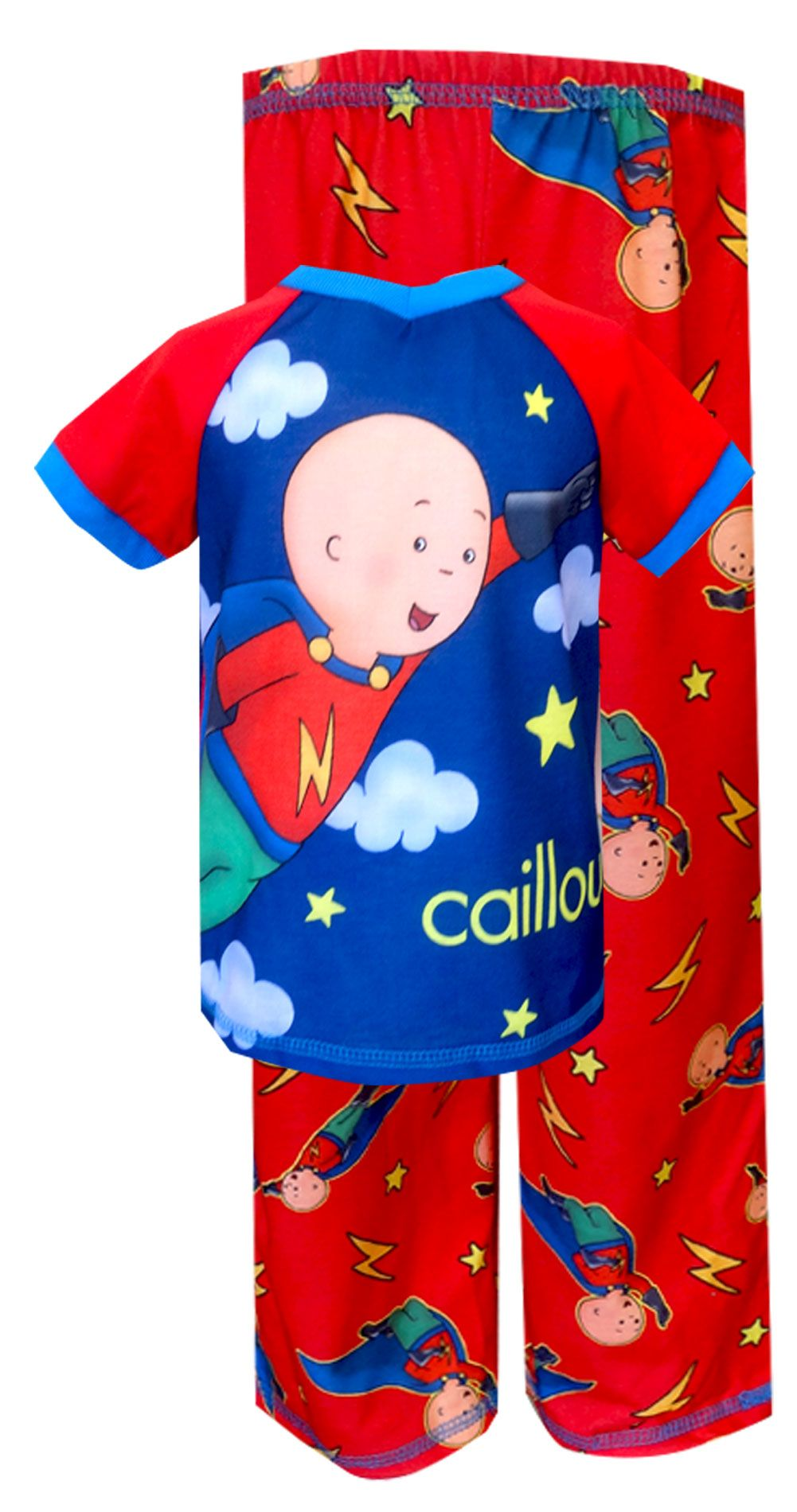 Caillou To the Rescue Toddler Pajamas with Cape Caillou to the ...