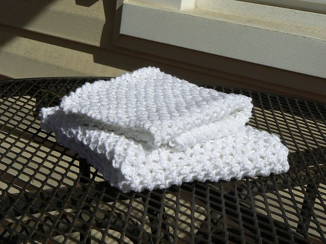 Ravelry: Waffle Brioche Dish Towel pattern by Camille Courter | For ...