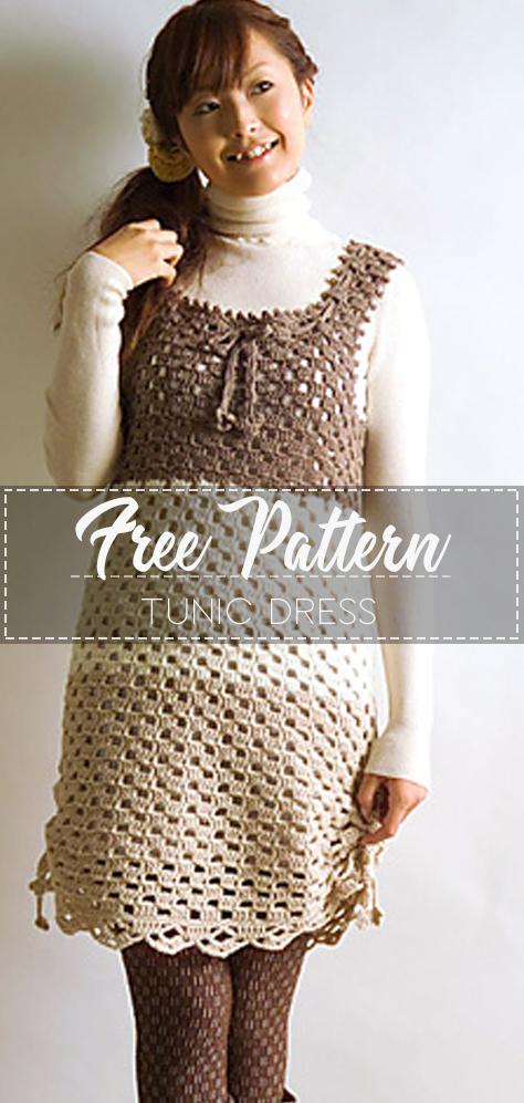 Tunisian Crochet Chill Summer Cover UpDress