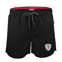530c589214 Lapulas Mens Swim Shorts Beach Bathing Swim Trunks Quick Dry Boys Swimwear  with Mesh Lining Pockets