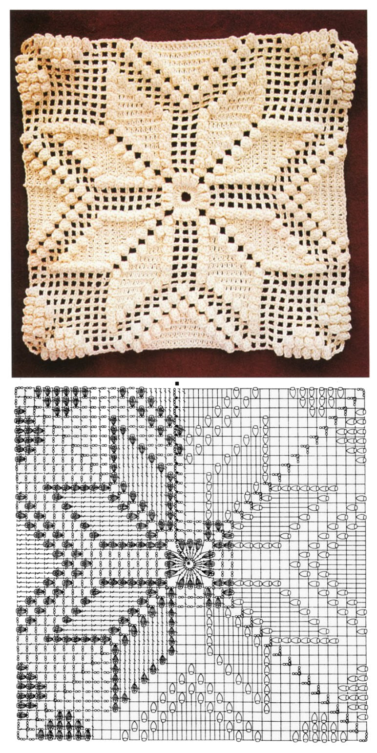 Funda de cojin Crochet | Ganchillo y frazadas | Pinterest | Crochet ...