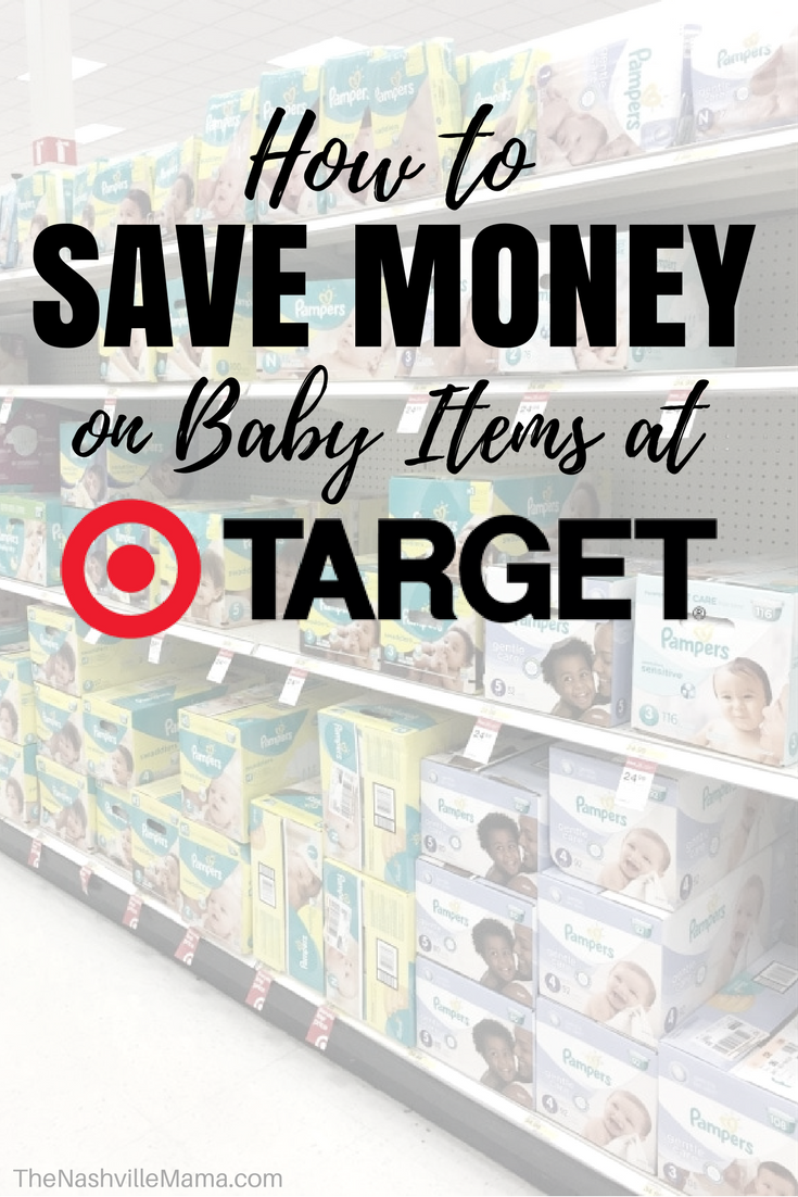 Ways to Save Money on Baby Items at Target Find out how
