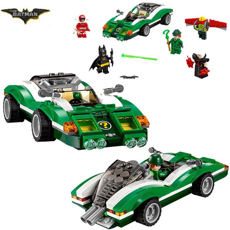 2017 New LEPIN 07059 Batman Movie The Riddler Riddle Racer