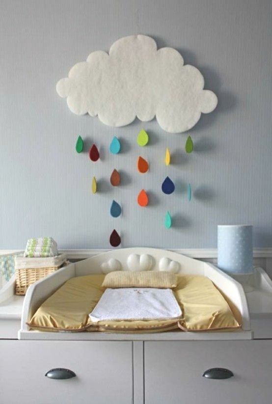 Commode langer en 19 exemples superbes chambre bebe chambre b b nature deco chambre - Tenture chambre bebe ...
