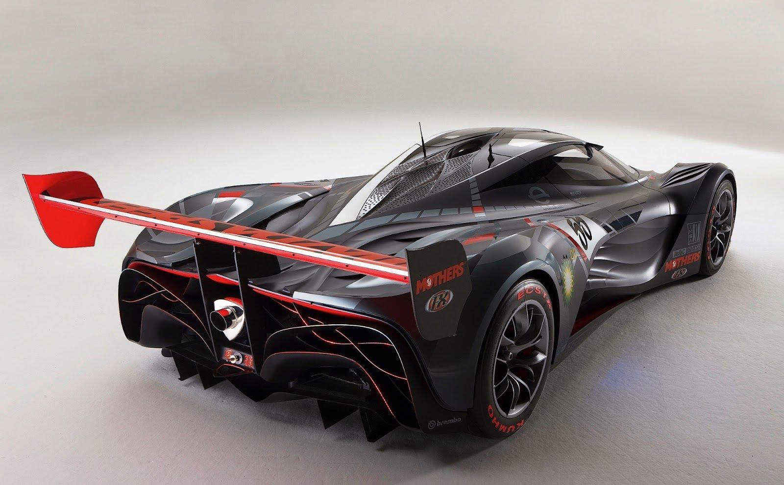 Mazda-Furai-Rear-Side-View | Concept cars, Mazda, Mazda cars