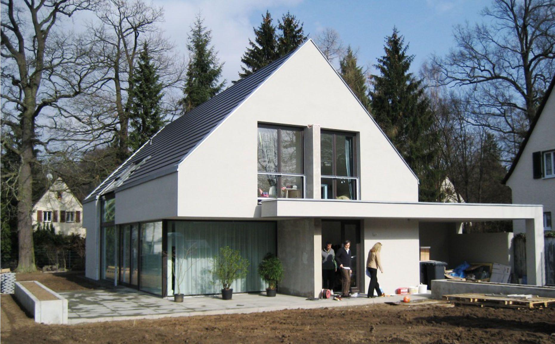 Bekannt Bildergebnis für satteldach modern interpretiert | Einfamilienhaus EV43