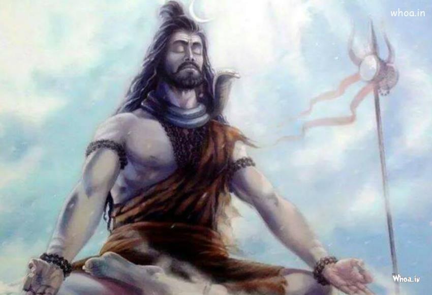 Lord Shiva Samadhi Hd Wallpaperbholenath Hd Wallpapernilkanth Hd