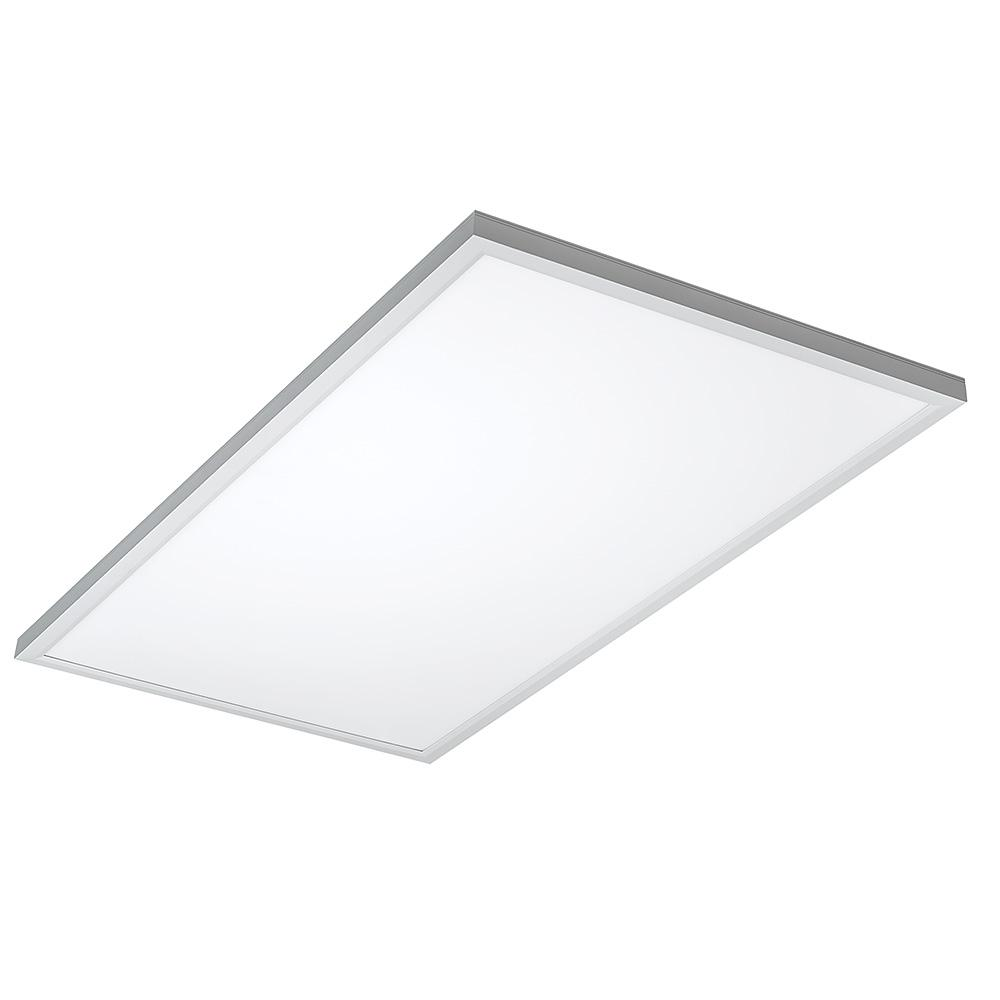 Eti 2 X 4 Flat Panel 128 Watt Equivalent White Integrated