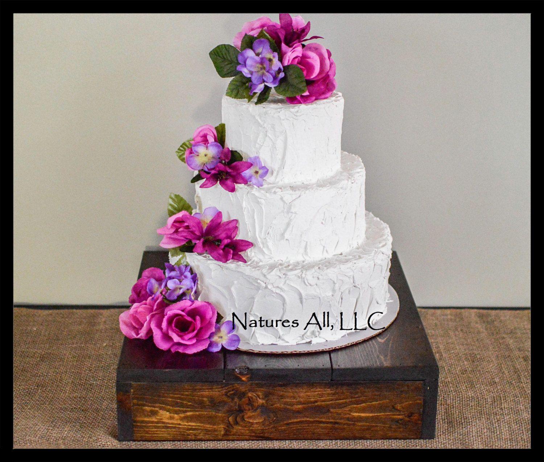 Rustic wedding decorwedding cake stand ideascountry wedding cake
