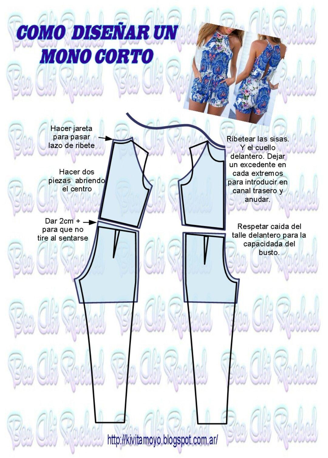 Pin de Mery en giovanna | Pinterest | Costura, Patrones de costura y ...