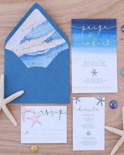 Aquarium Themed Wedding Invitations Wedding Invitations