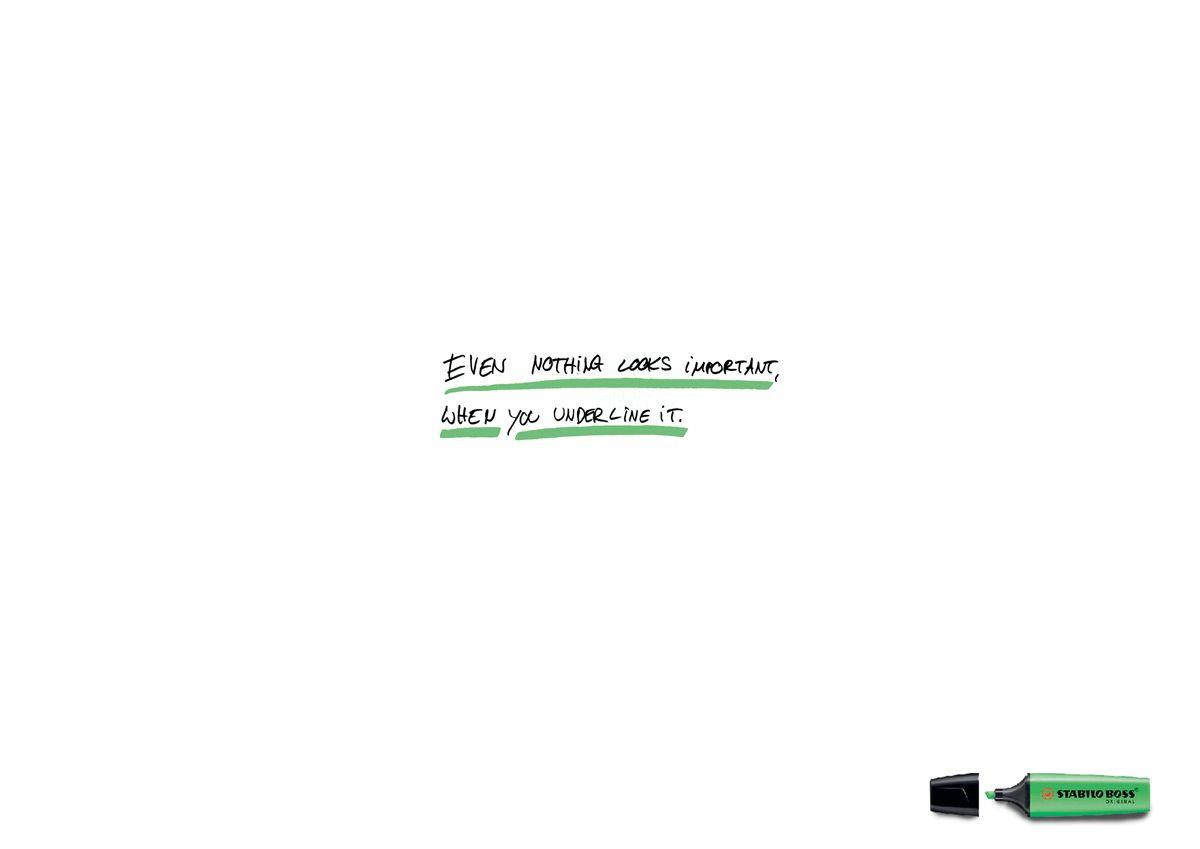 4ae5ba18528b Stabilo Highlighter Creative Advertising