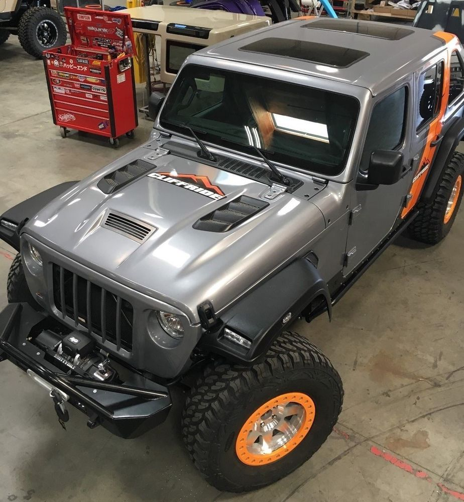 Ebay 2018 Jeep Wrangler Jl Sema Build Poison Spyder Pro Comp Booth Lift 35s Fastback Top Hood Grill