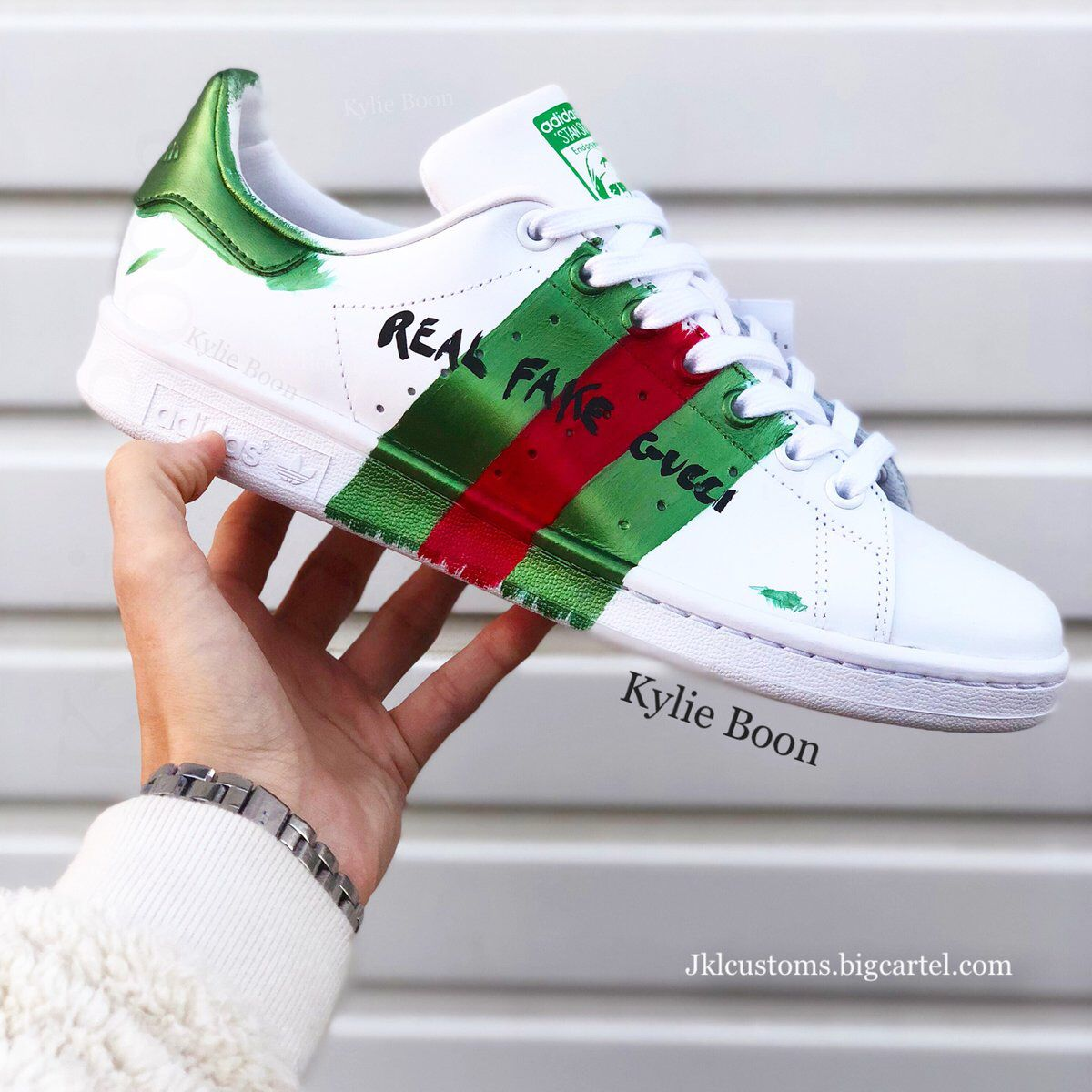 adidas stan smith it ain't gucci