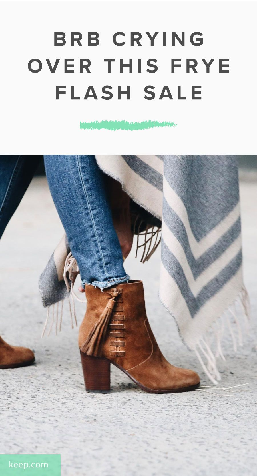9ae54c62b0 BRB Crying Over This Frye Flash Sale