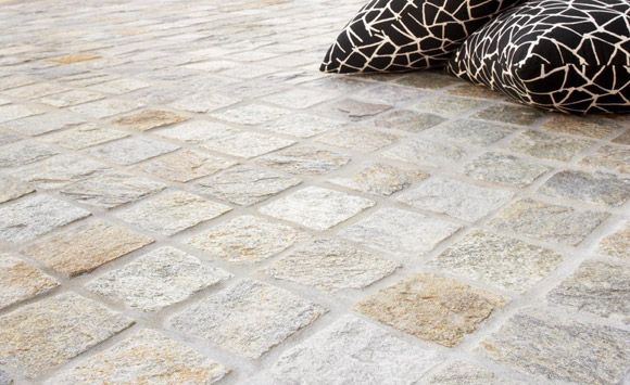 Eco Outdoor Flooring Cobblestones Silex Ideas For