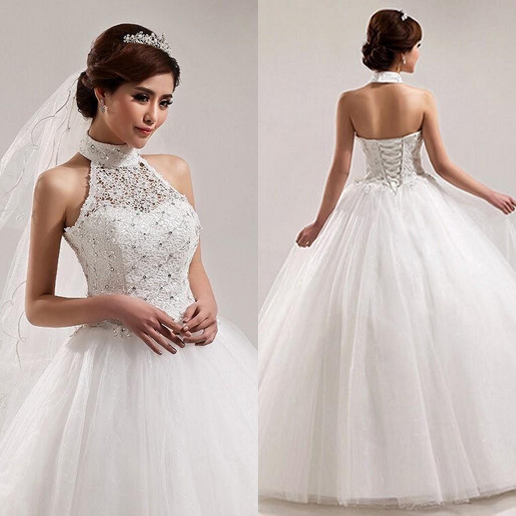 Amazing 64 Princess Style Ball Gown Wedding Dress Inspiration Https Weddeas Com 64 Pr Halter Top Wedding Dress Chinese Style Wedding Dress Ball Gowns Wedding