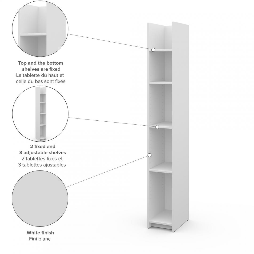 Small Space 10 Narrow Shelving Unit In 2020 Small Shelving Unit Shelving Unit Shelving