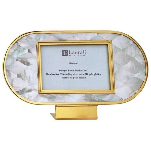 Golden Silver And Mother Of Pearl Italian Picture Frame Wisdom