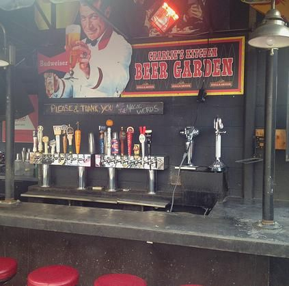 Charlie S Kitchen Beer Garden Dive Bar Kitchen