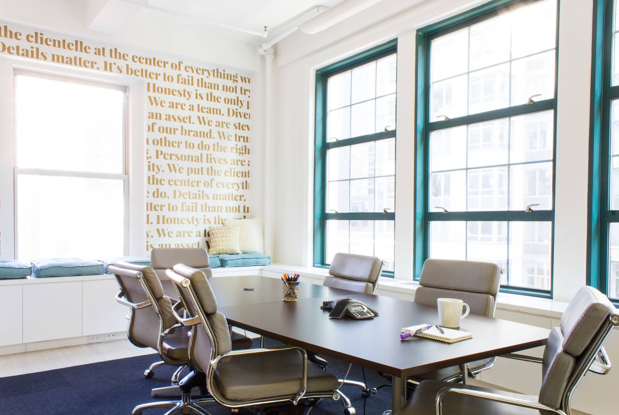 Inside Ellevest's New NYC Office | Dope Office Spaces | Office space