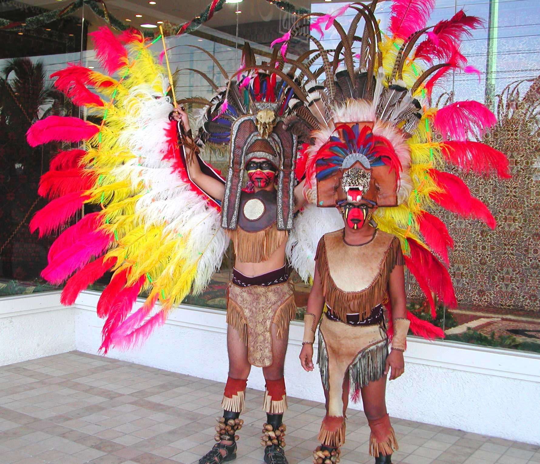 how to make an aztec warrior costume