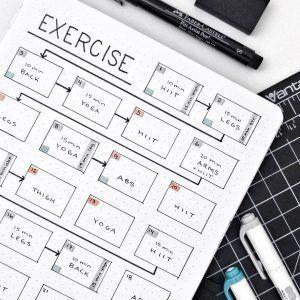 Beautiful Dawn Designs - Blogging. Creativity. Inspiration. #fitness goals bullet journal layout 12...