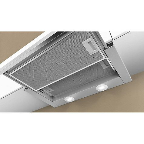 buy neff d46br22n0b integrated cooker hood silver online at