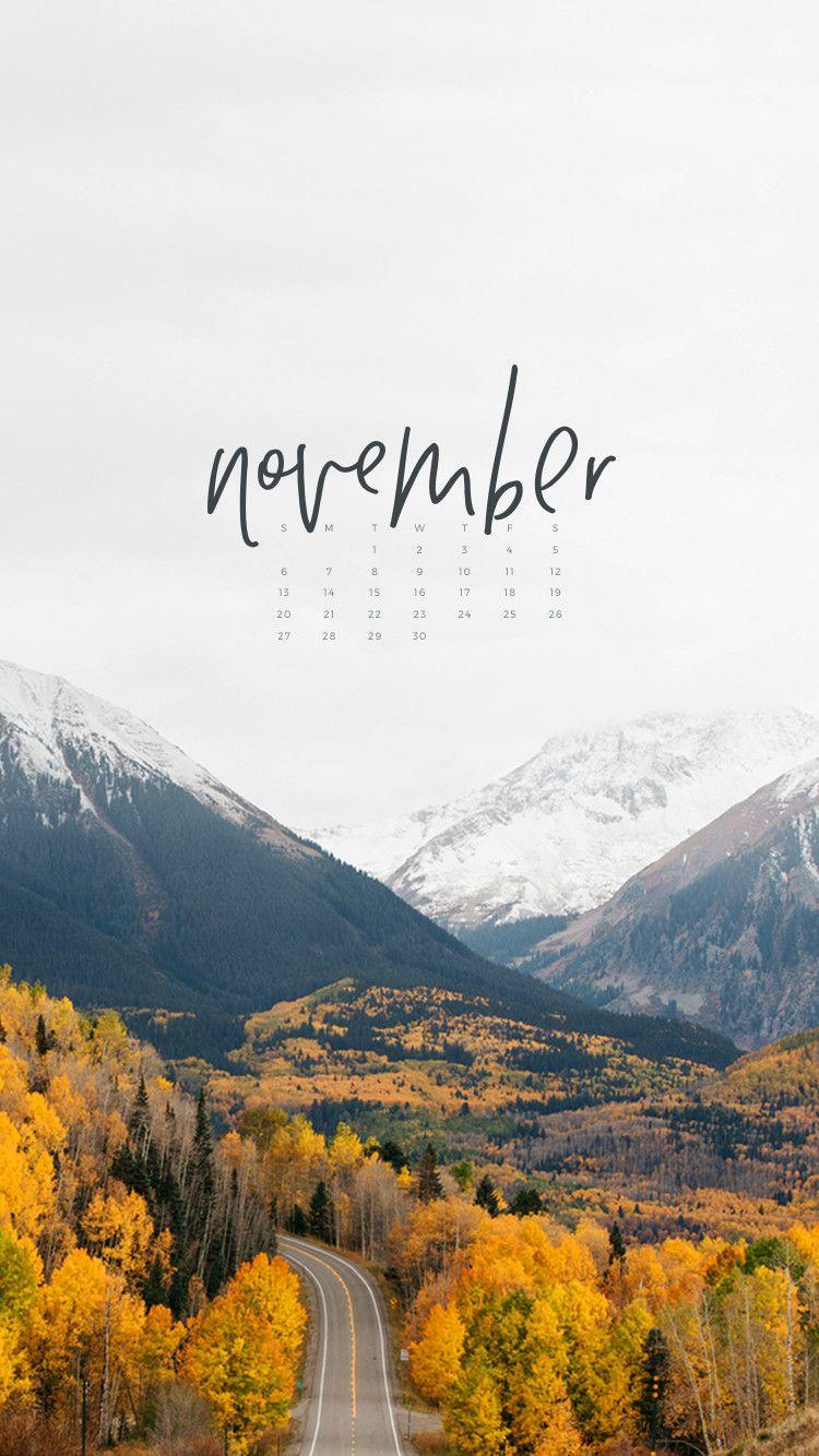 Hello November iPhone Wallpaper To Live Beautifully