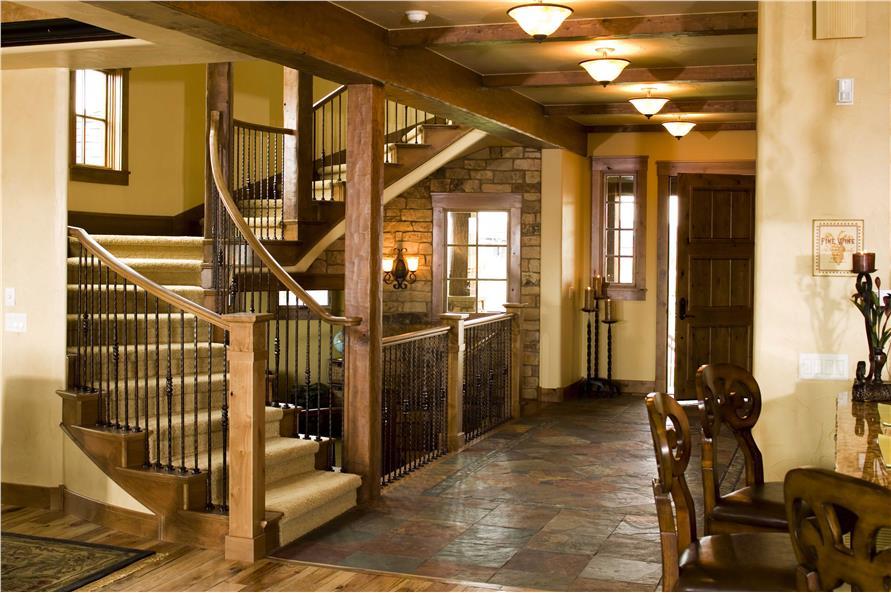 Luxury Rustic House Plan 5 Bedrms 5 5 Baths 6963 Sq