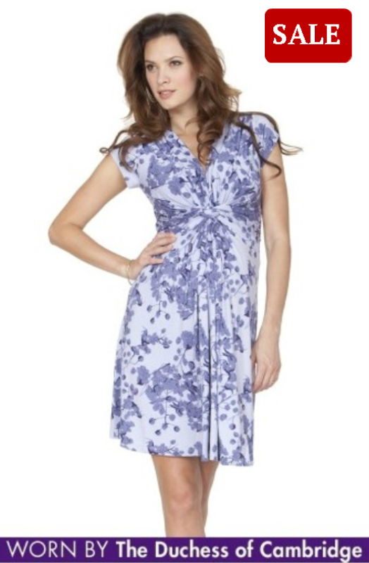 5beca589a1fa9 Seraphine Blossom Knot Front Lavender Dress | SALE | When i can't be ...
