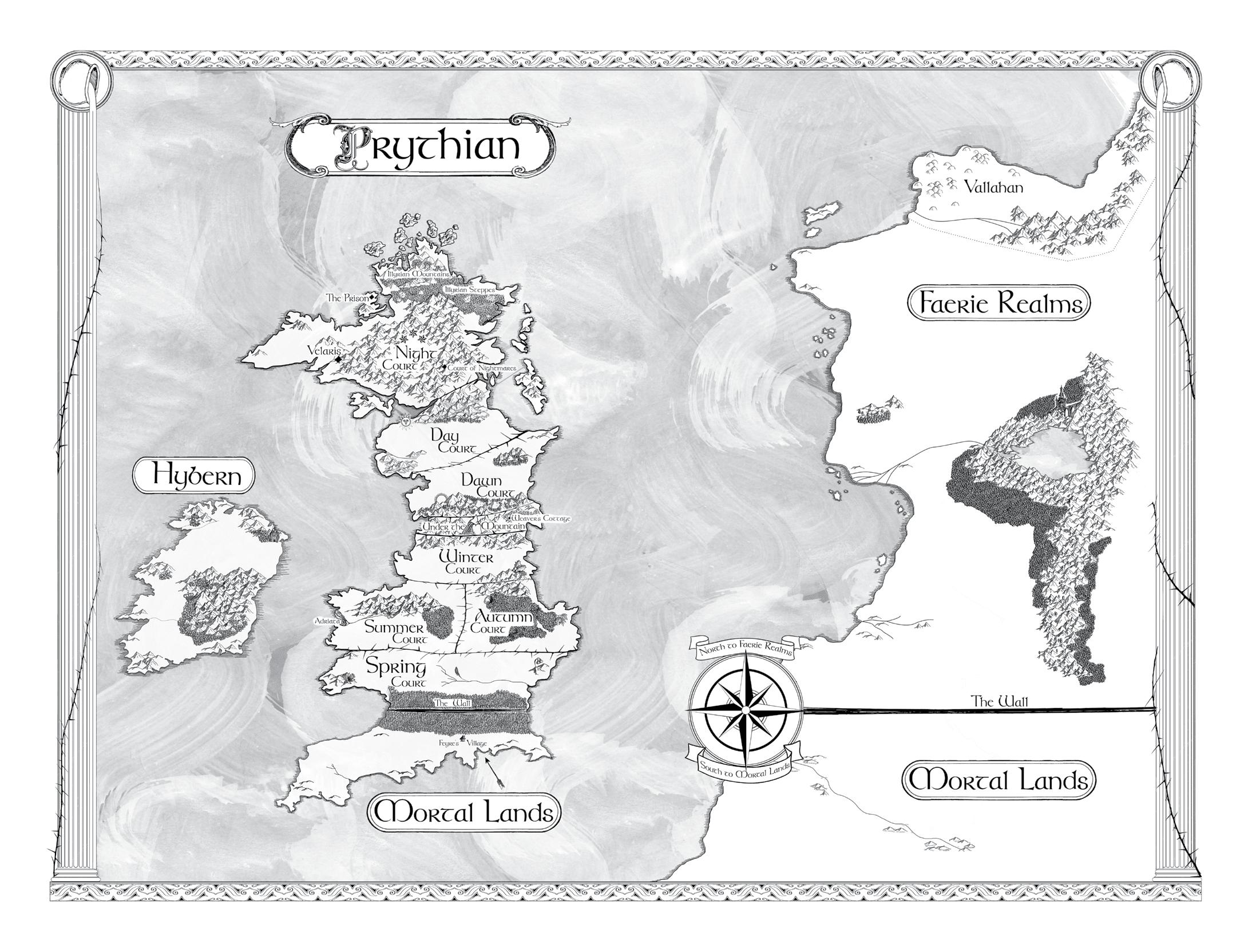 Mapa de Prythian