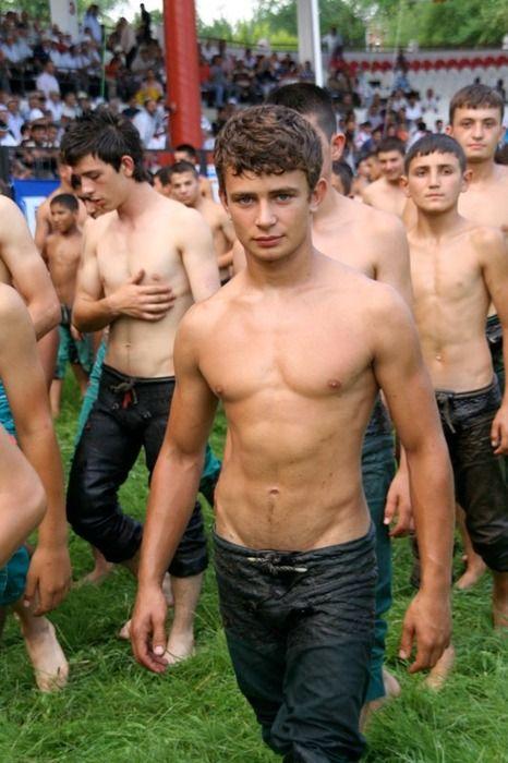 young turkish men