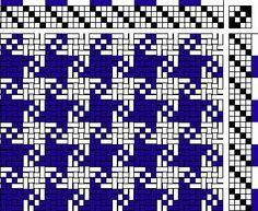 4 shaft weaving drafts - Recherche Google