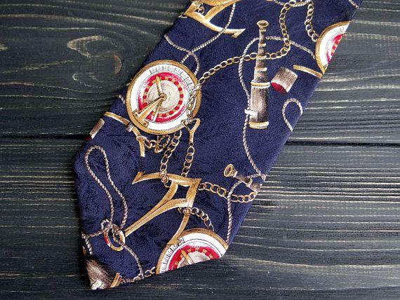 Gifts  Mens 100/%  Silk Long Scarf//Cravat Blue Black White  Strip