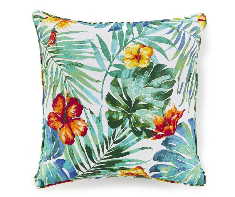 Kayan Tropical Outdoor Throw Pillow Big Lots In 2020 Outdoor Throw Pillows Throw Pillows Tropical Throw Pillow