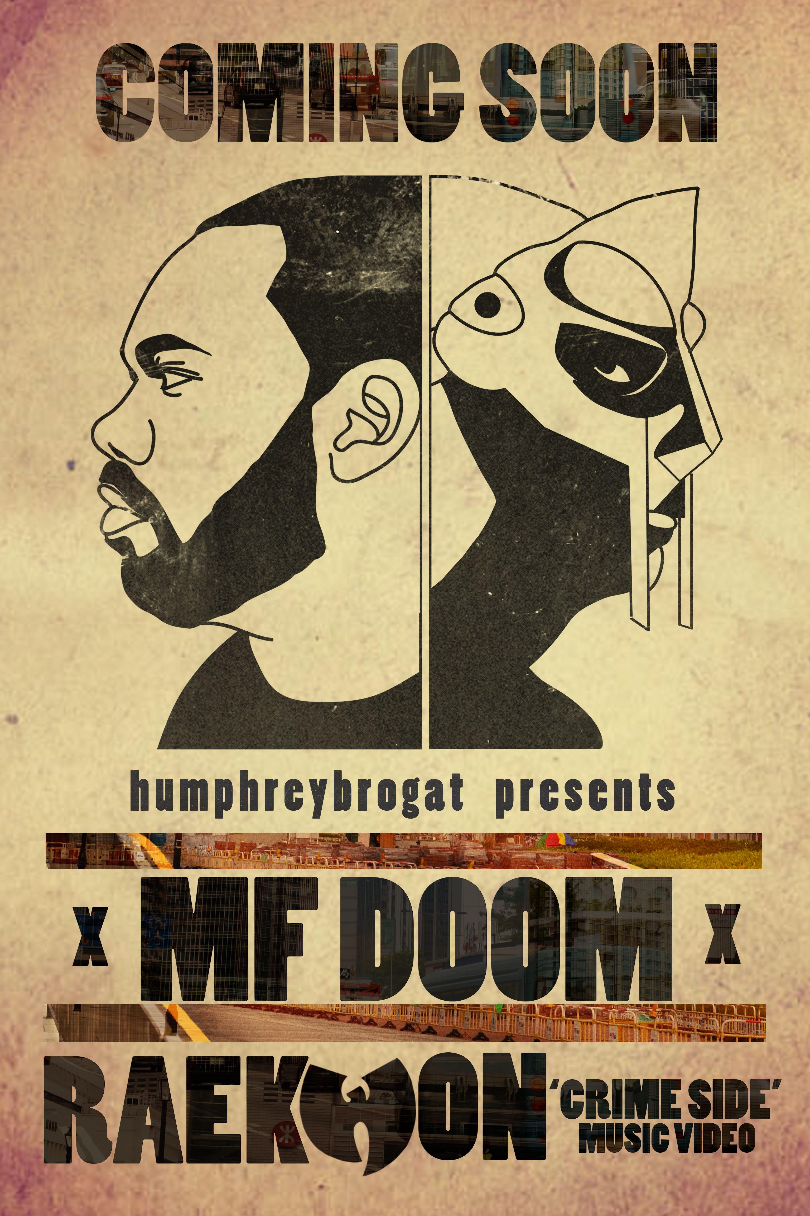 mf doom x raekwon poster by tylerayers