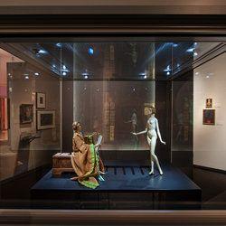 """Image from the exhibition """"Die Bühnen des Richard Teschner"""" at the Theatremuseum in Vienna, Austria which ran from 25.4.2013 - 21.4.2014"""